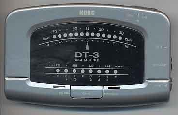 KORG調音器DT3